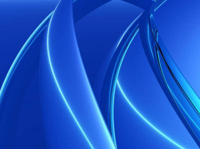 3D Blue pillars ppt backgrounds