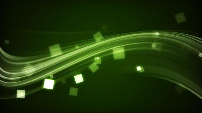Electro green strips ppt backgrounds