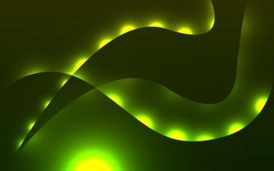 Abstract green light line  ppt backgrounds