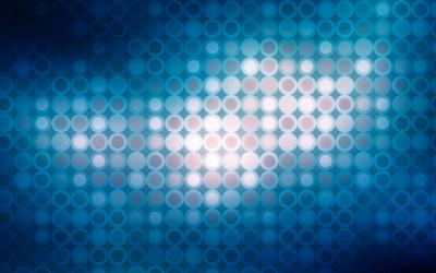 Blue Light Circle Pattern ppt backgrounds