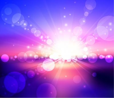 Bokeh abstract light effects ppt backgrounds