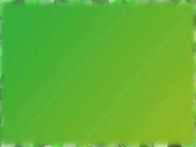 Green Art Border ppt backgrounds