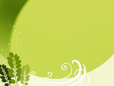 Leaf Green ppt backgrounds