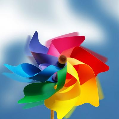 Pinwheel ppt backgrounds