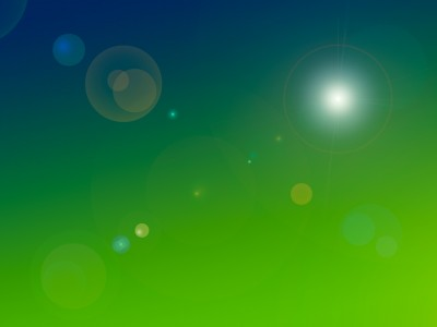 Blue green gradient lights ppt backgrounds