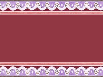 Berry Swirl Borders ppt backgrounds