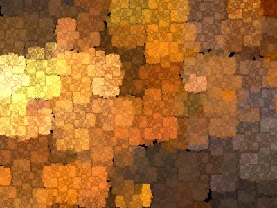 Copper Mosaic ppt backgrounds