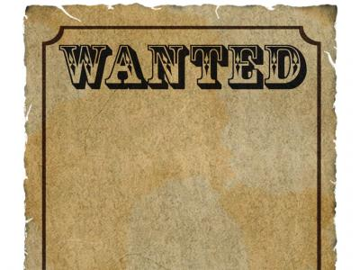 Wanted ppt backgrounds