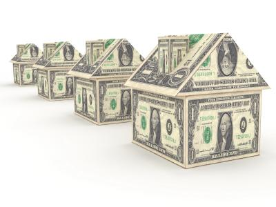 Money house ppt backgrounds