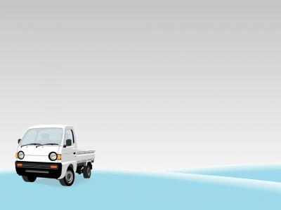 Small Truck ppt backgrounds