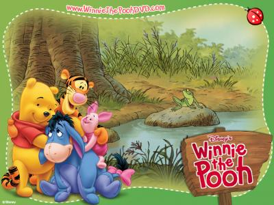 Winnie The Pooh ppt backgrounds