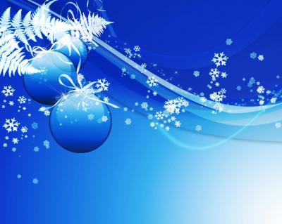 New Year Decorations ppt backgrounds