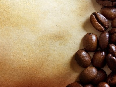 Coffee bean ppt backgrounds