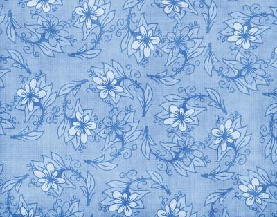 Floral Blues ppt backgrounds