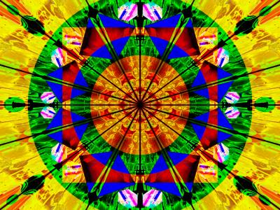 kaleidoscope ppt backgrounds