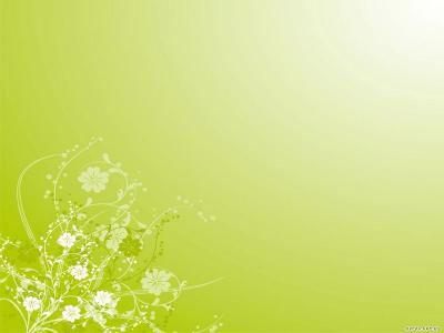 Pistachio green ppt backgrounds