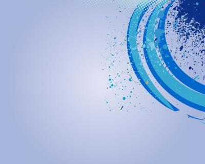 Blue and White Half-circle ppt backgrounds