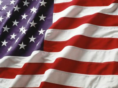 American Flags ppt backgrounds