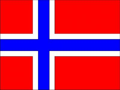 Norway Flag ppt backgrounds