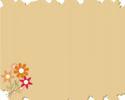 Art Flowers ppt backgrounds