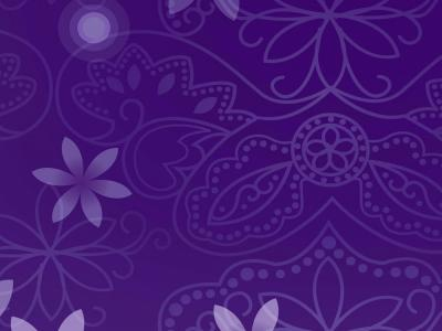 Floral purple figure ppt backgrounds