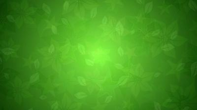Green floral stars texture ppt backgrounds