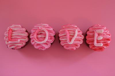 Love Cake ppt backgrounds