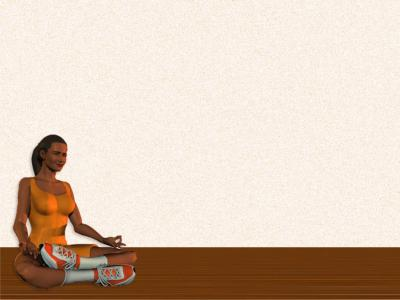 Meditation for health ppt backgrounds