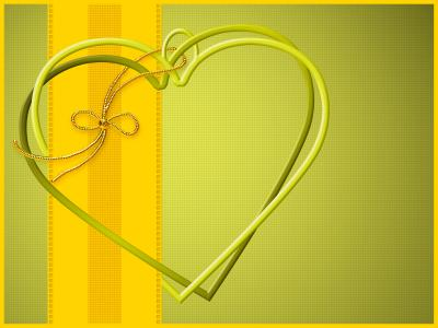 Forever love heart  ppt backgrounds