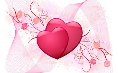Love heart valentine day ppt backgrounds