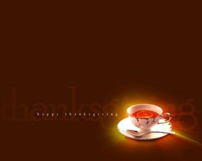 Thanksgiving coffe ppt backgrounds