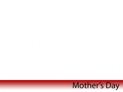 The Theme of Mothers Day ppt backgrounds