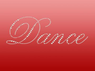 Red Dance ppt backgrounds