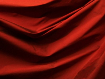 Red Silk ppt backgrounds