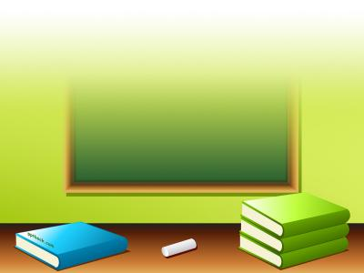 Back to school, book, pencil, eraser ppt backgrounds