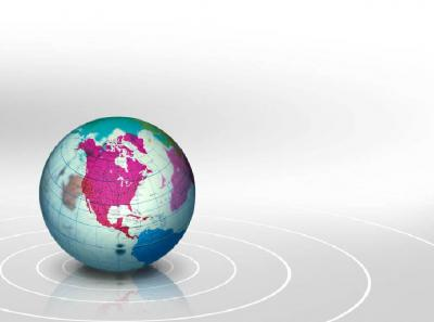 Globe geography ppt backgrounds