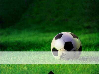 Balon de Futbol ppt backgrounds