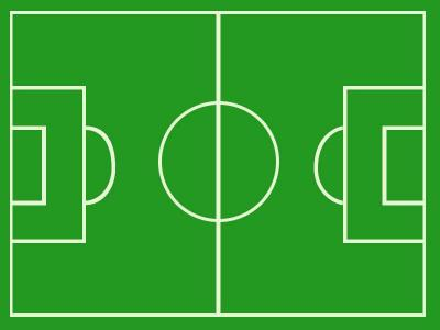 Soccer field football ppt backgrounds