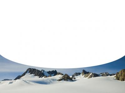 Snowy mountains, Travel ppt backgrounds