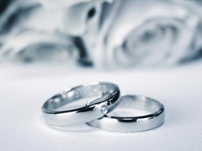 Wedding rings ppt backgrounds