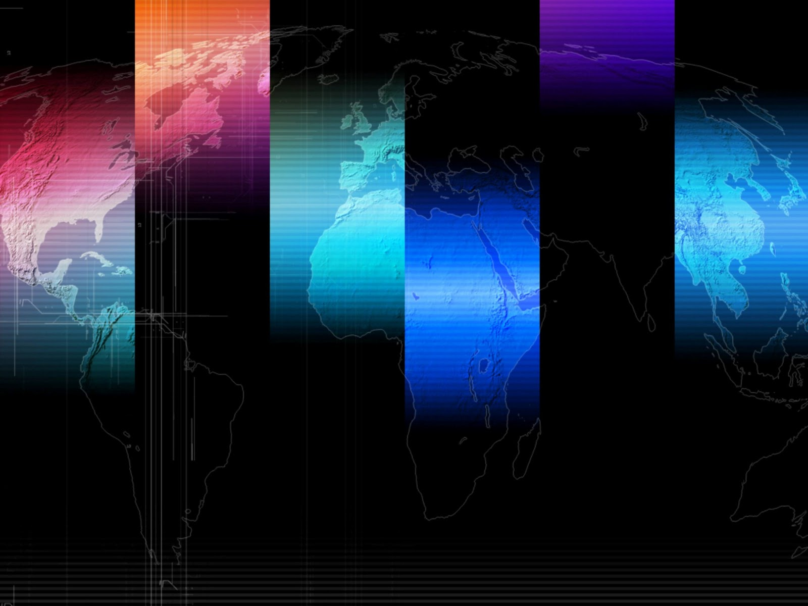 Business World Map backgrounds