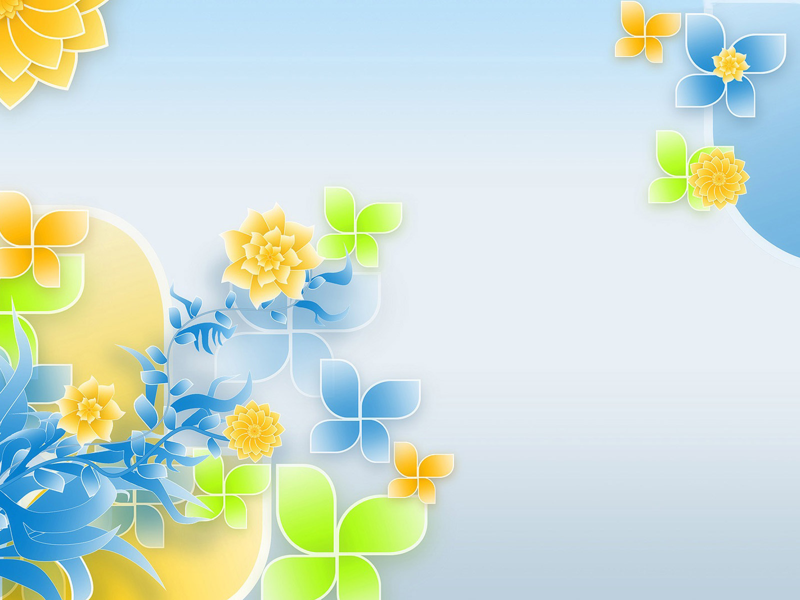 Floral patterns backgrounds
